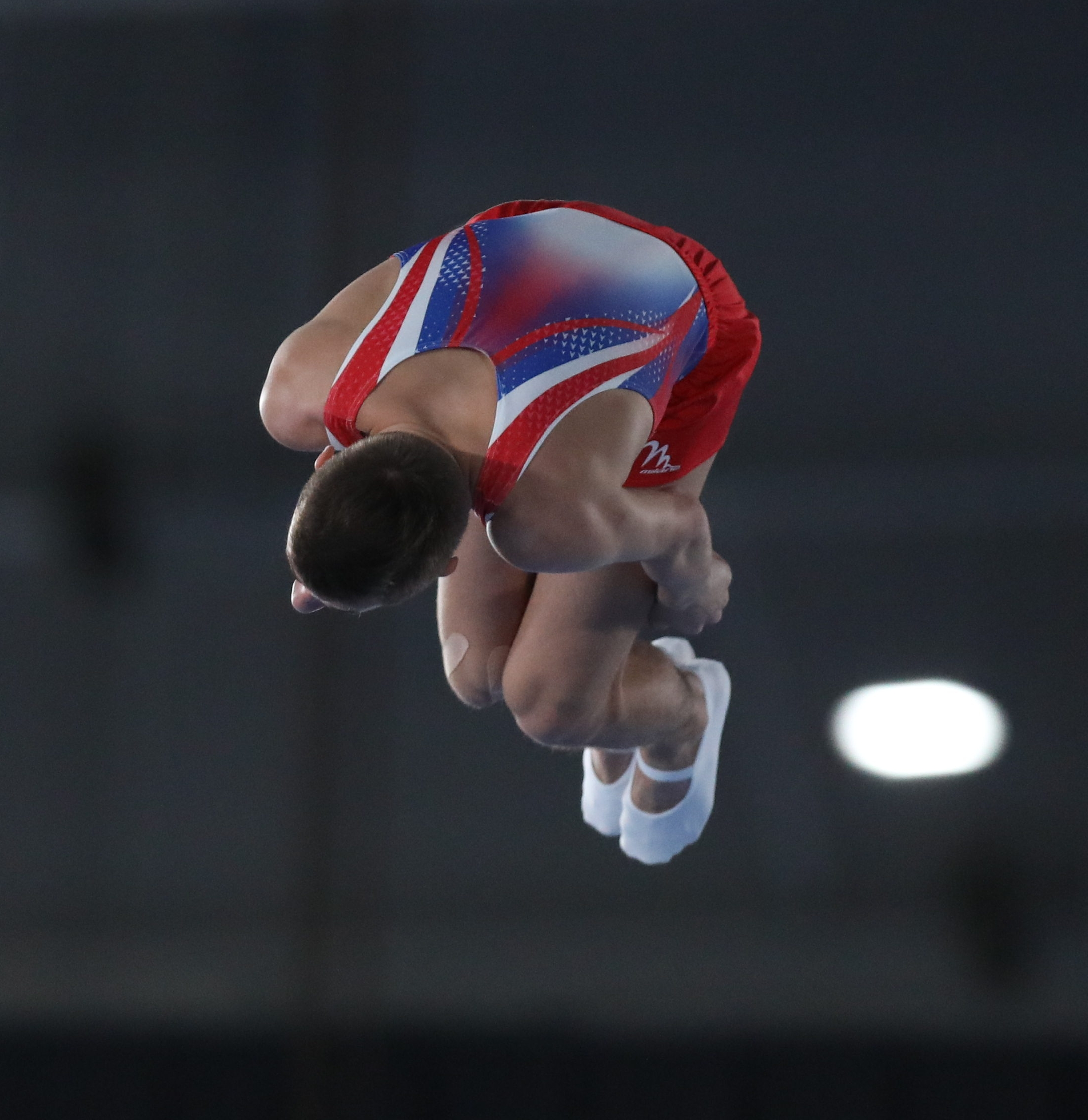 2018-10-14 Boys' Trampoline Gymnastics Final at 2018 Summer Youth Olympics by Sandro Halank-086.jpg Deutsch: Trampolinturnen männlich: Finale