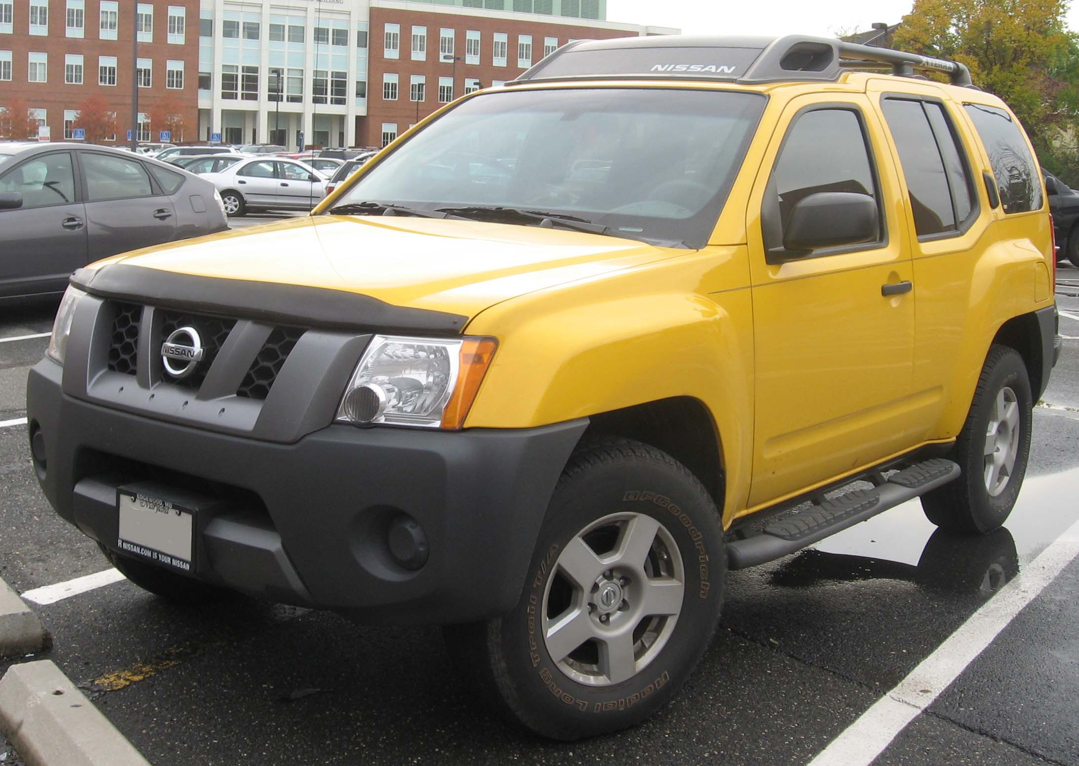 File 2nd Nissan Xterra Jpg Wikimedia Commons