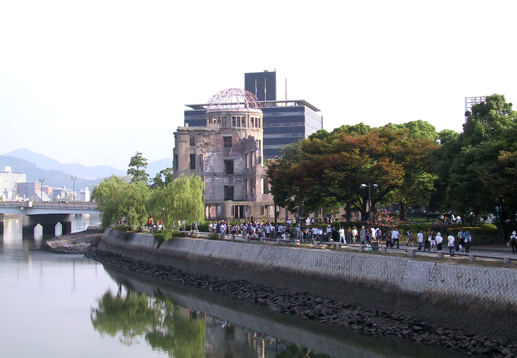 A-Bomb Dome in Hiroshima, Japan