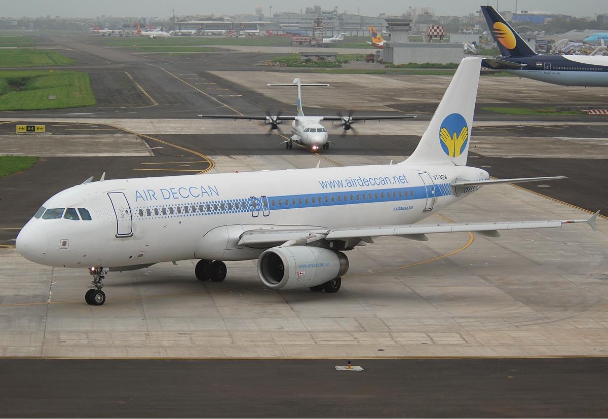Publicité Air Deccan – le vieil homme et le ciel