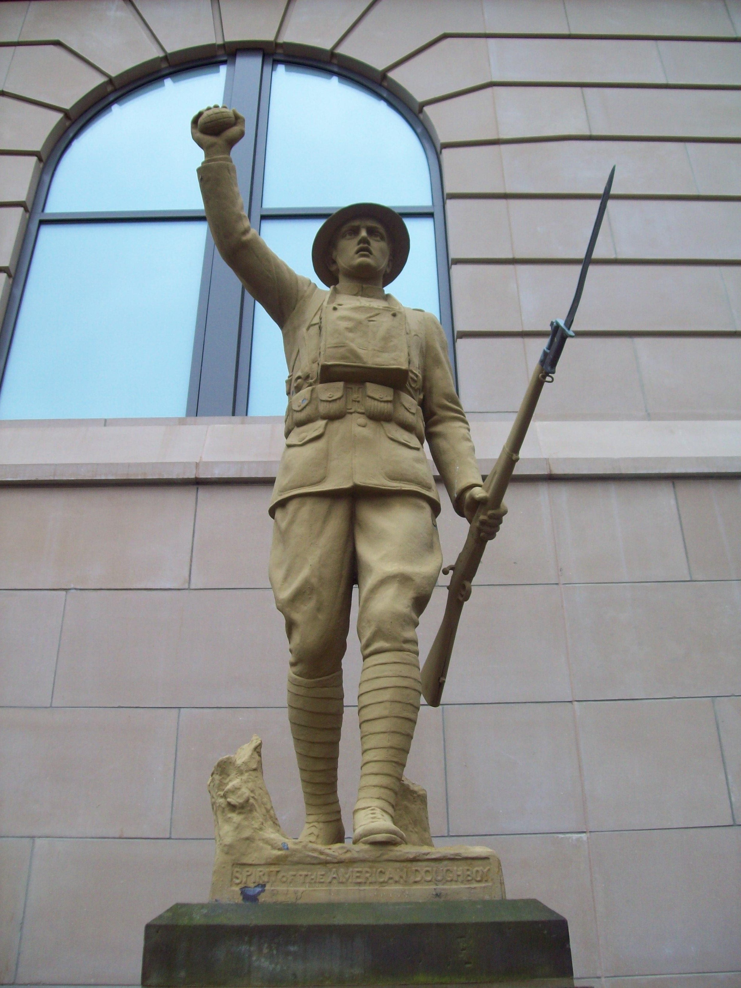 The Akron Spirit of the American DoughBoy