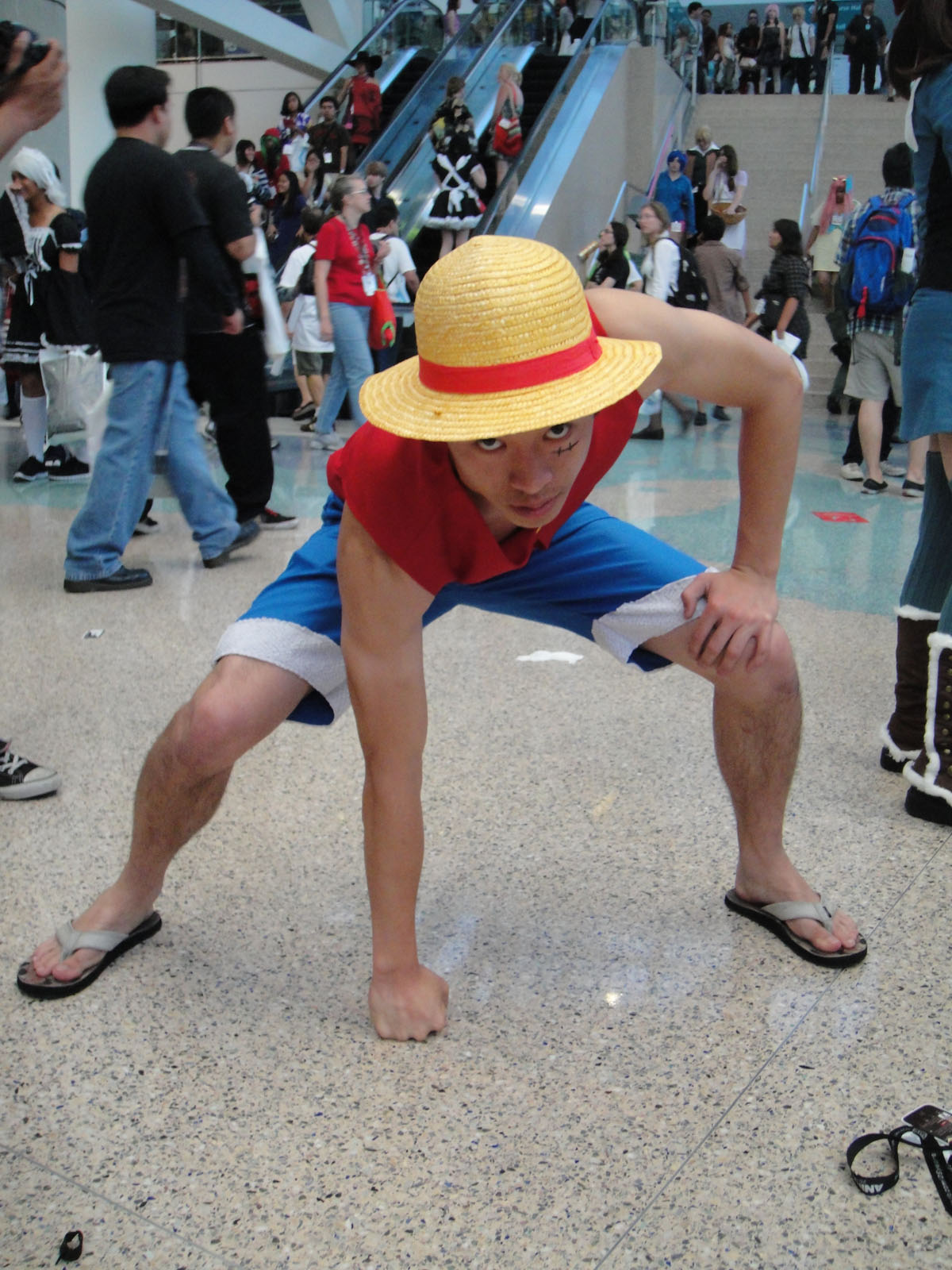File Anime Expo 2011 Monkey D Luffy One Piece