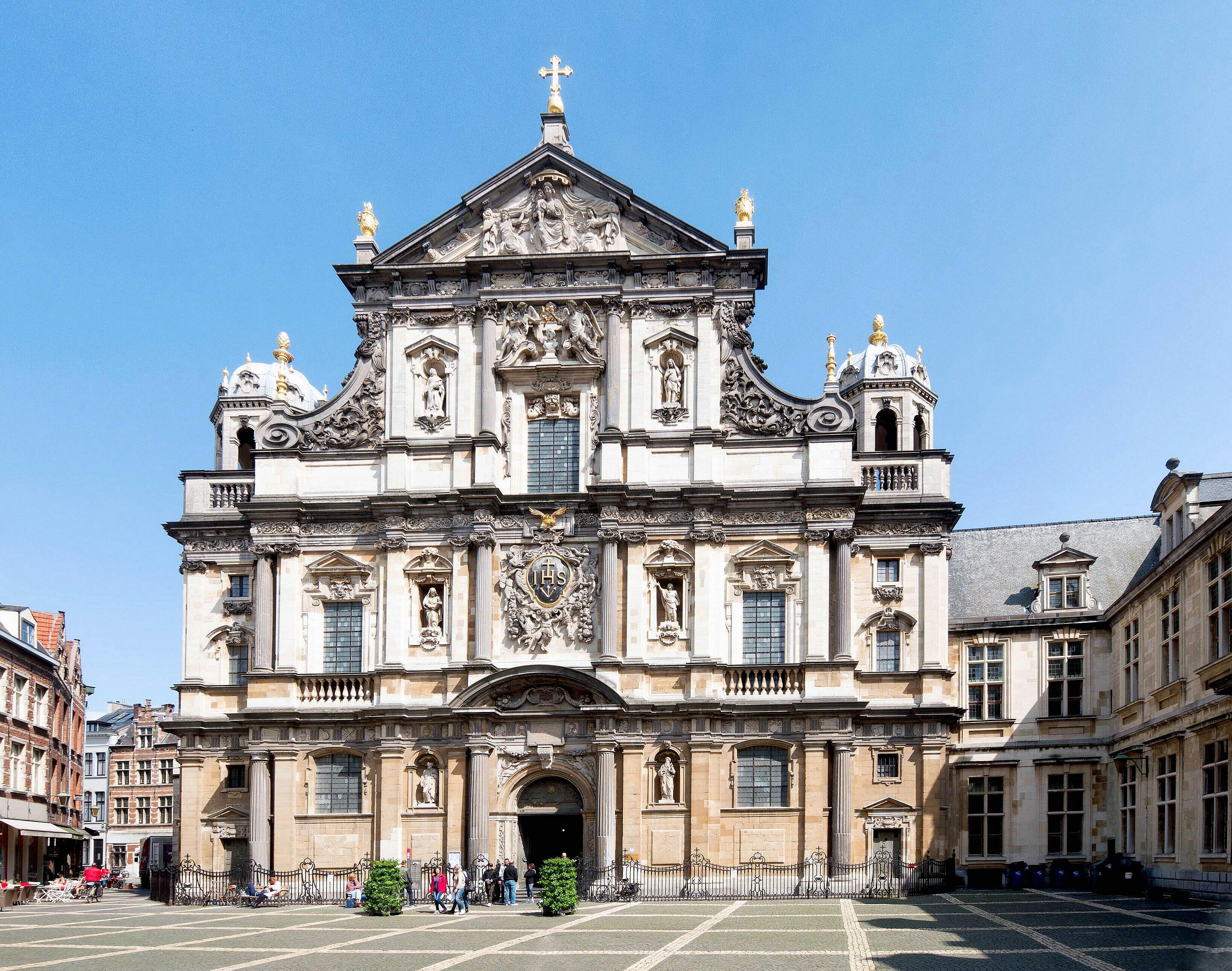 Iglesia de San Carlos Borromeo (Amberes) - Wikipedia, la ...
