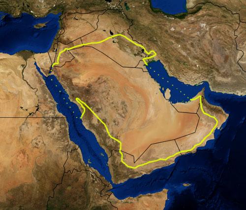 Arabiske Orken Wikipedia Den Frie Encyklopaedi