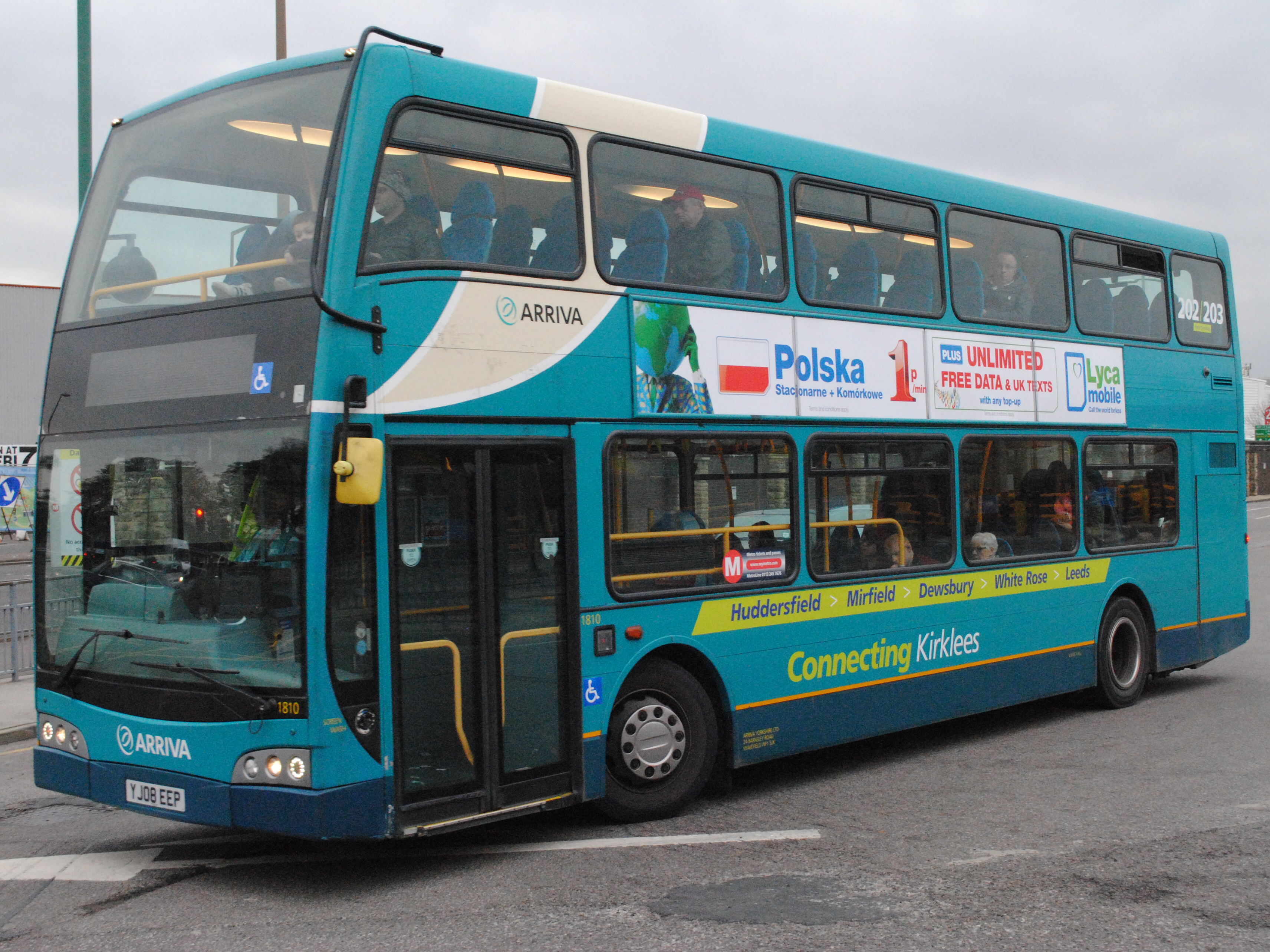 File Arriva Yorkshire 1810 Yj08eep Flickr Alan