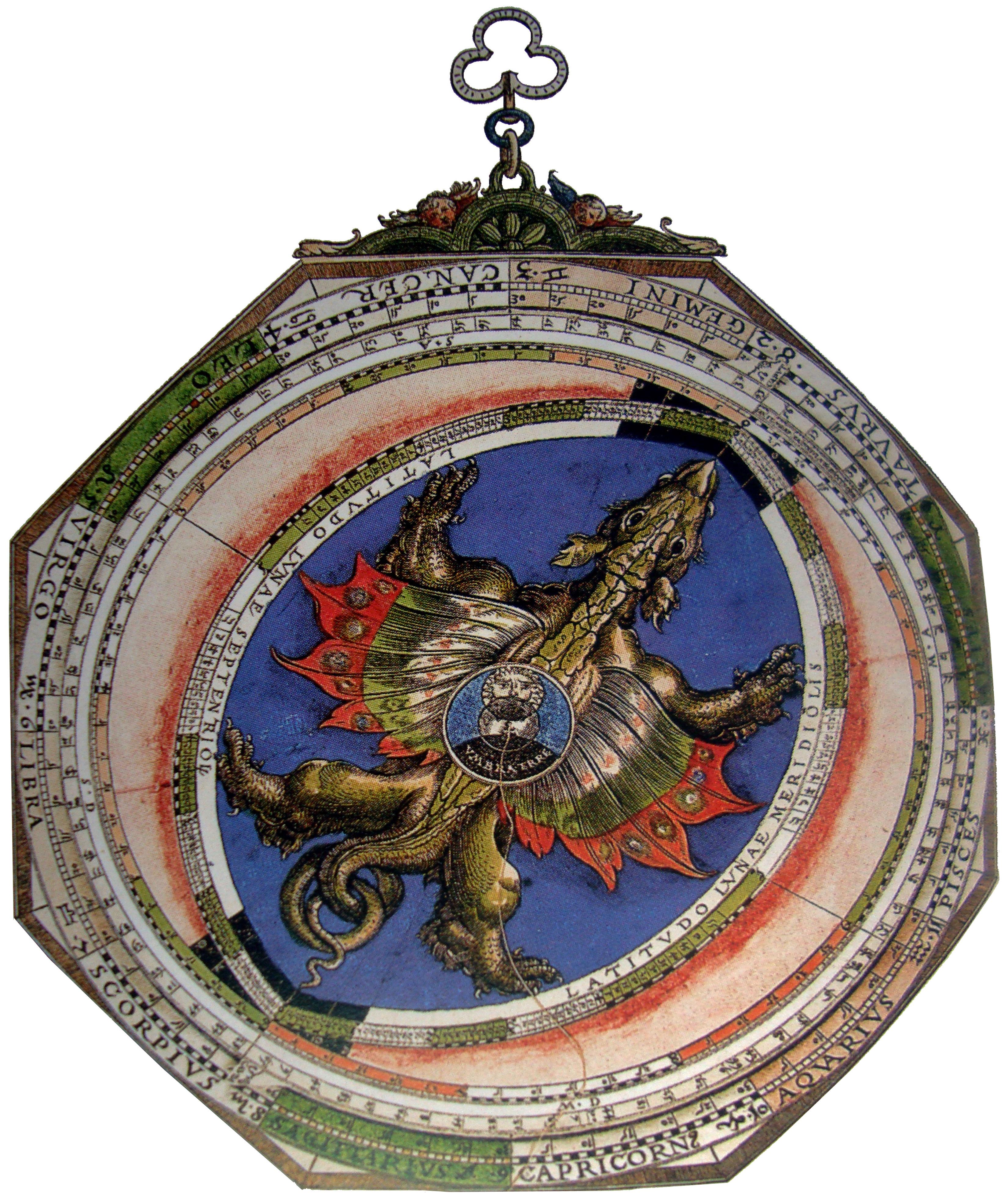 Libros raros: 3-Astronomicum Caesareum