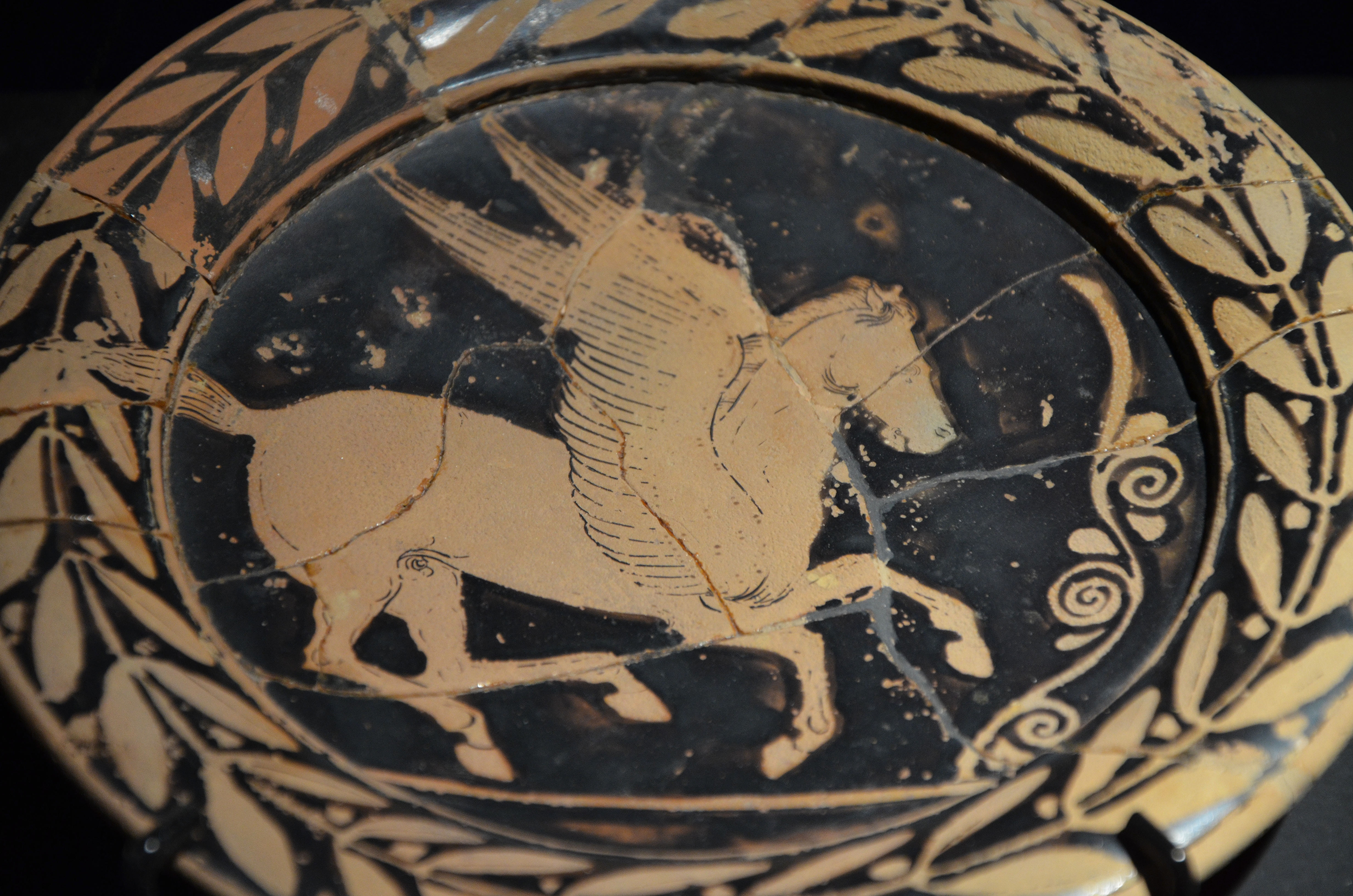 FileAttic plate with Pegasus from Greece 420 BC Monsters. Fantastic & File:Attic plate with Pegasus from Greece 420 BC Monsters ...