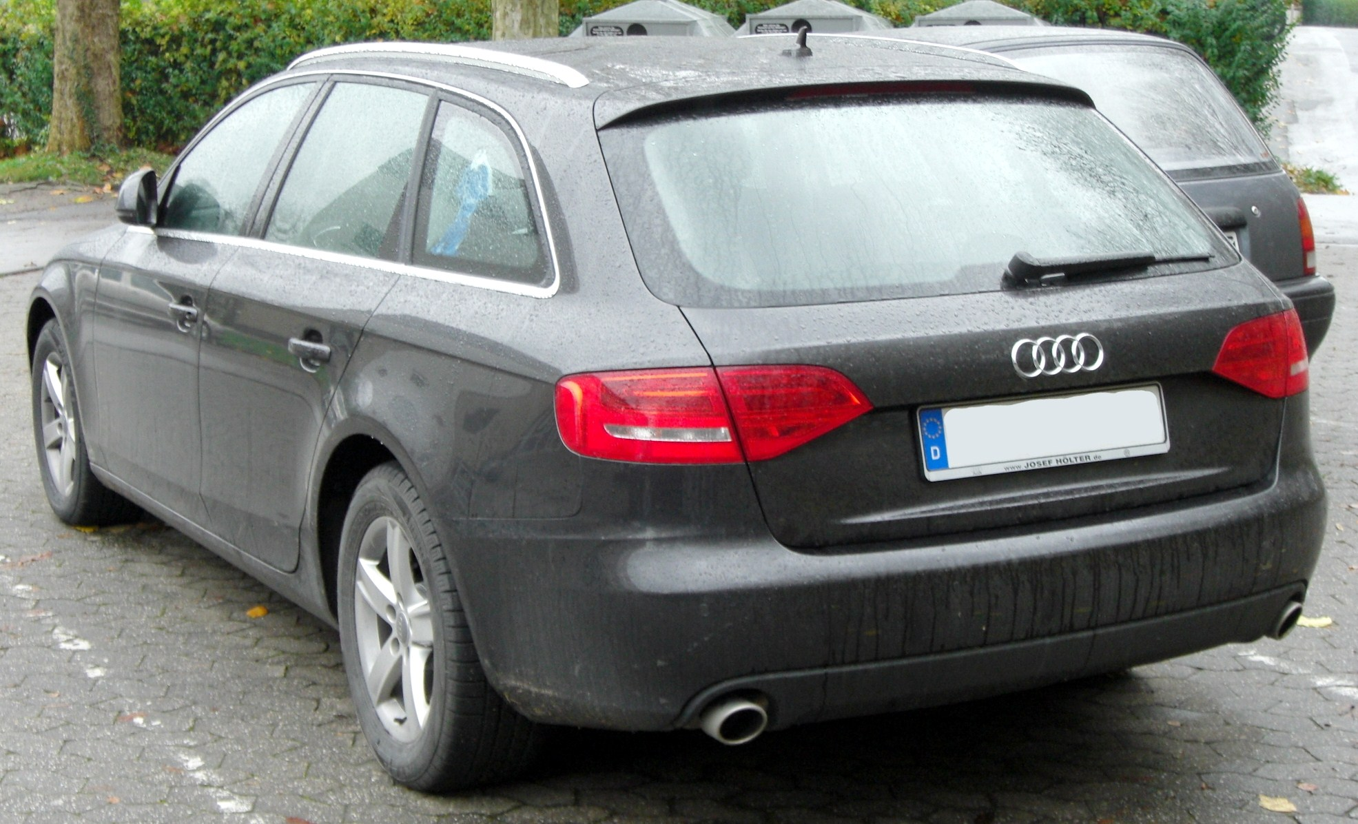 file audi a4 b8 avant seit 2008 rear wikimedia. Black Bedroom Furniture Sets. Home Design Ideas