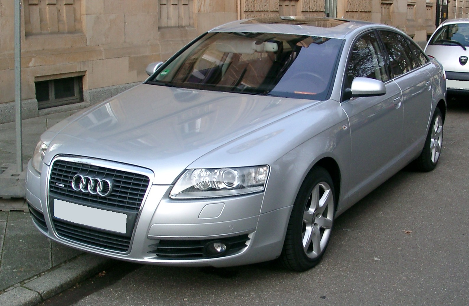 File Audi A6 C6 Front 20080108 Jpg Wikimedia Commons