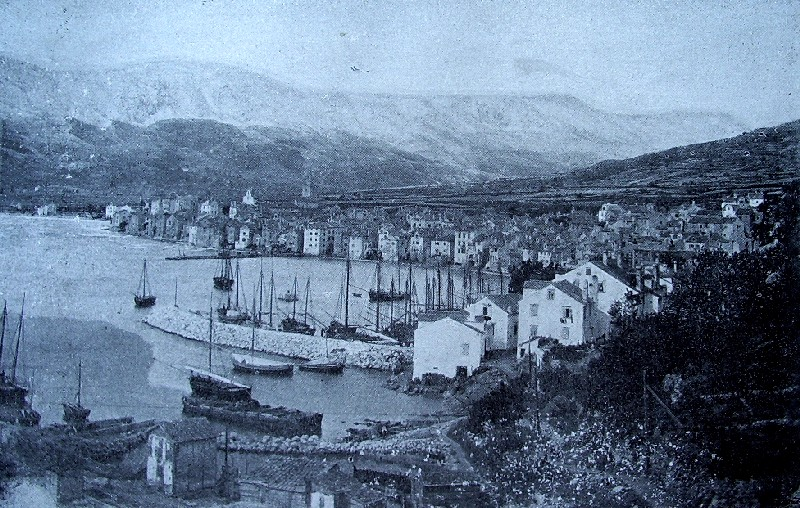 Krk Island Croatia  city photo : Baška Krk island Croatia 19th century Wikipedia
