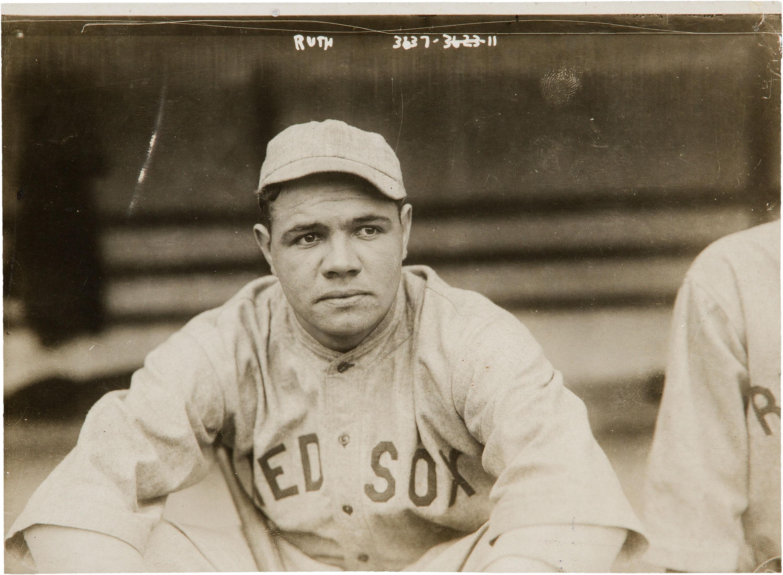 File:Babe Ruth by Bain, 1919.jpg - Wikimedia Commons Babe Ruth