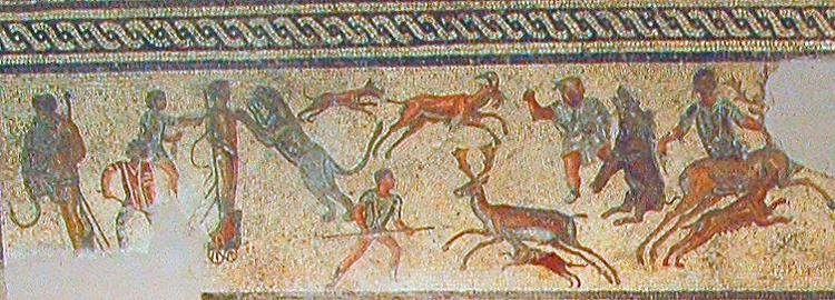 File beasts and criminals from the zliten wikimedia commons - La villa romaine antique ...