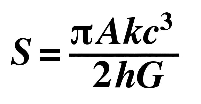 hawking black hole formula -#main
