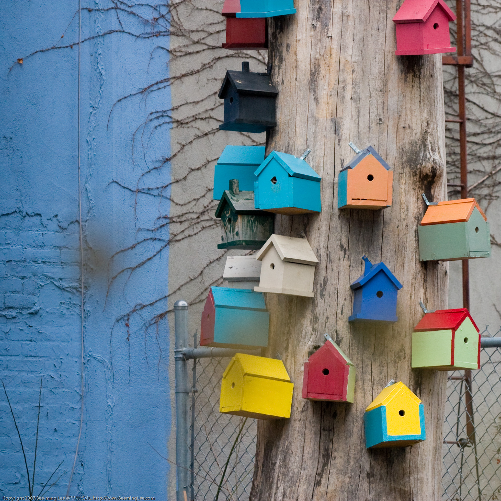 Birdhouses from Wikimedia Commons