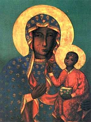 English: The Black Madonna of Czestochowa Pols...