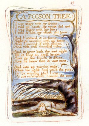 Blake A Poison Tree, Copy W
