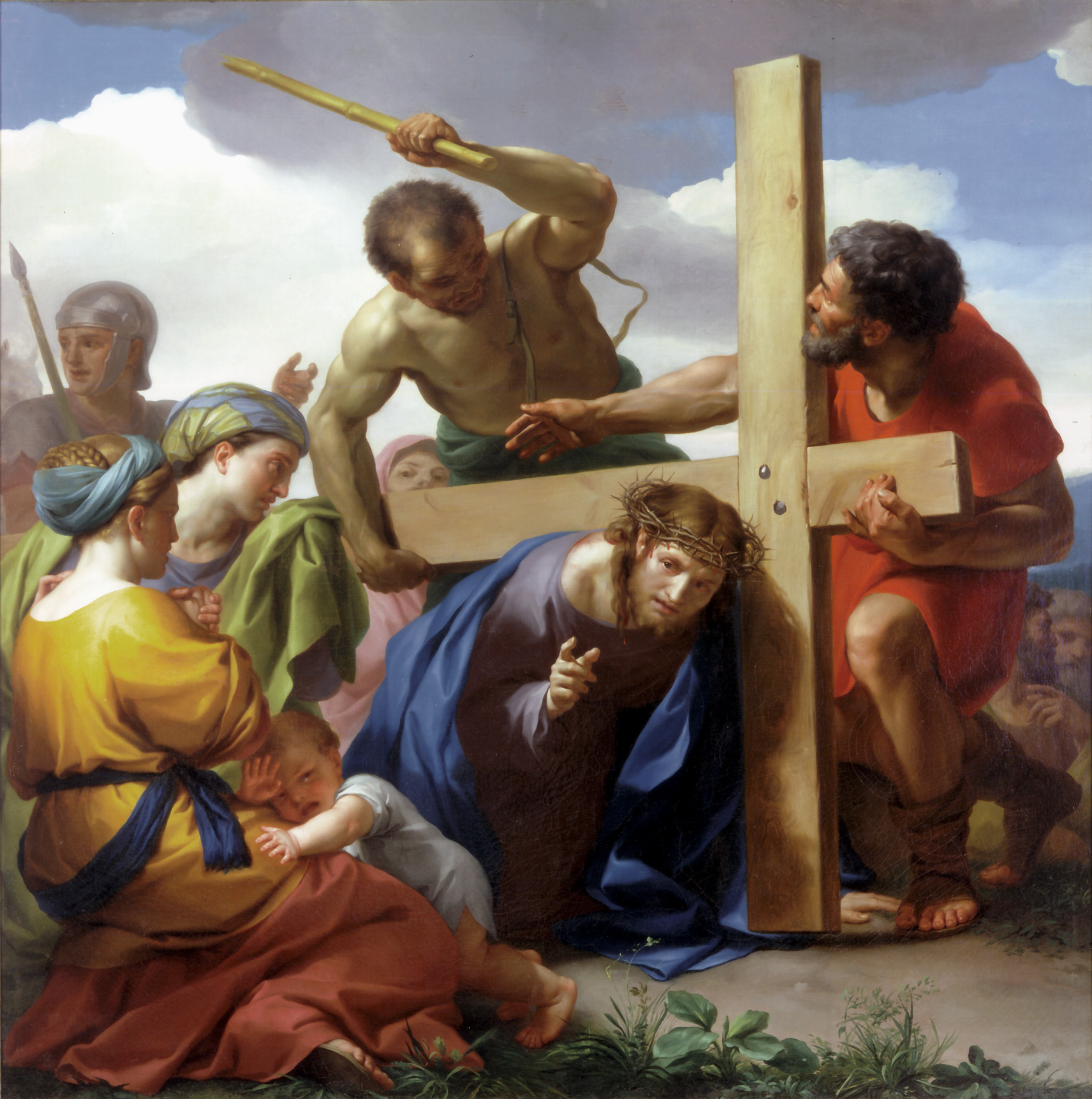 an examination of the art station ix jesus falls a third time This resource allows the reader to develop their own station of the cross prayer service th ix jesus falls the third time.