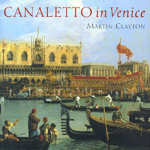 The cover of ''Canaletto in Venice'' (2005).