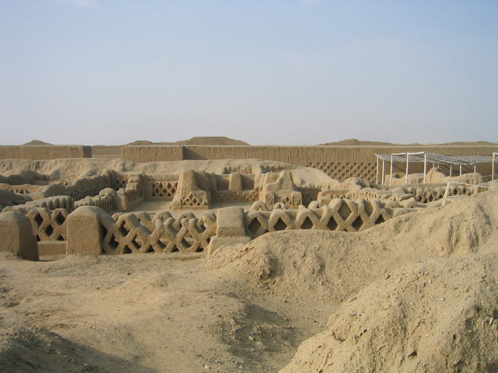 Chanchan fishnet ruins