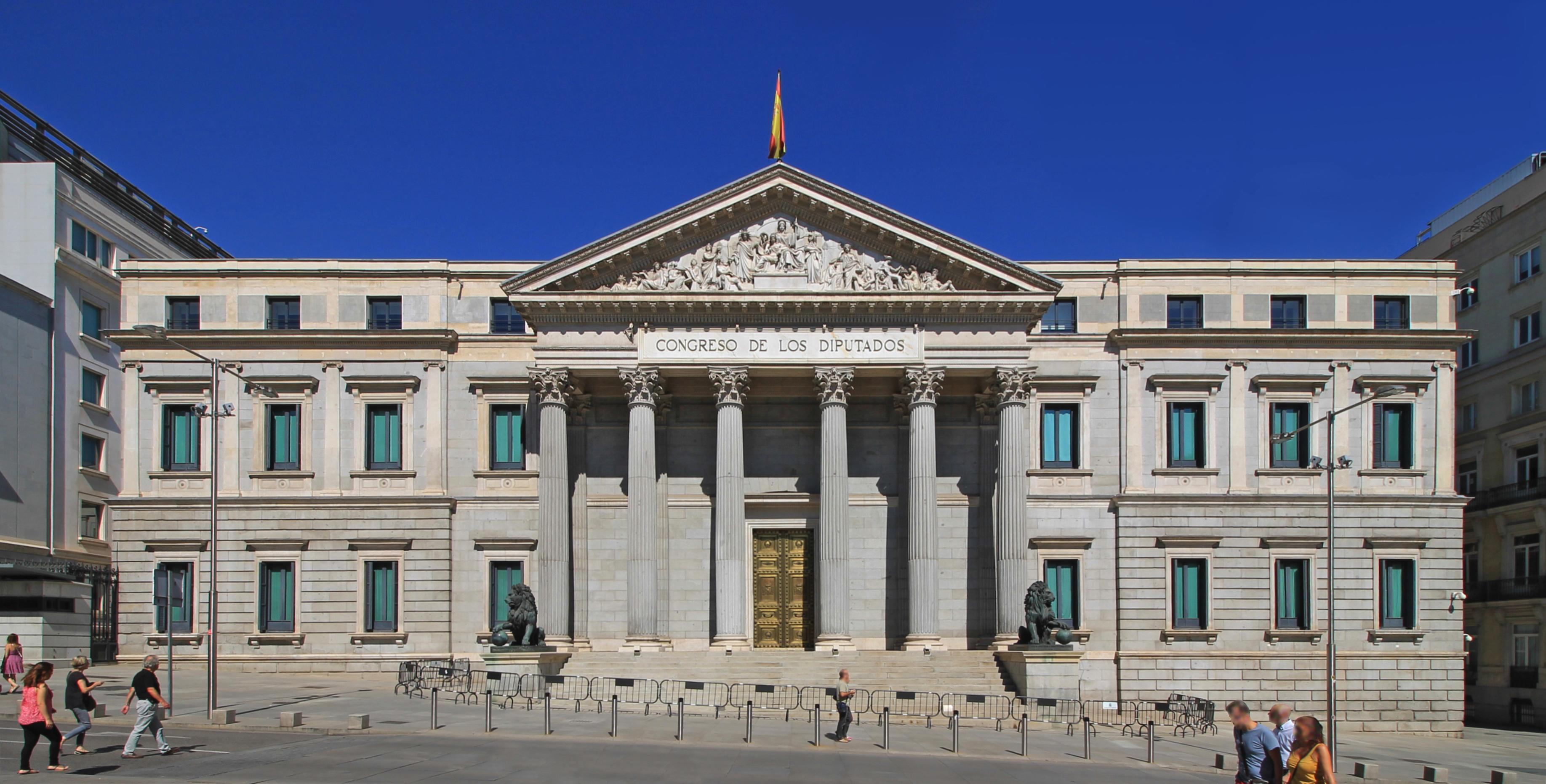 Palacio de las Cortes, Madrid - Wikipedia