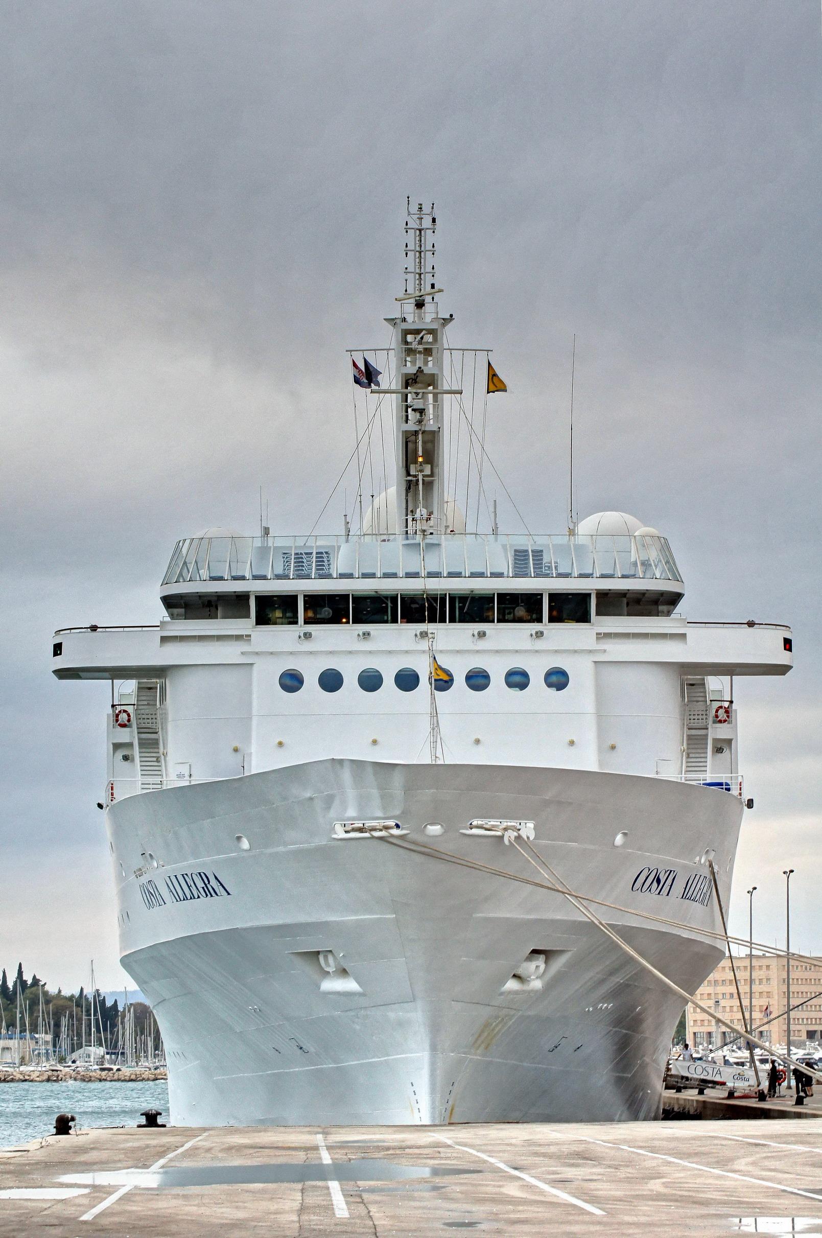 allegra cruise ship reviews