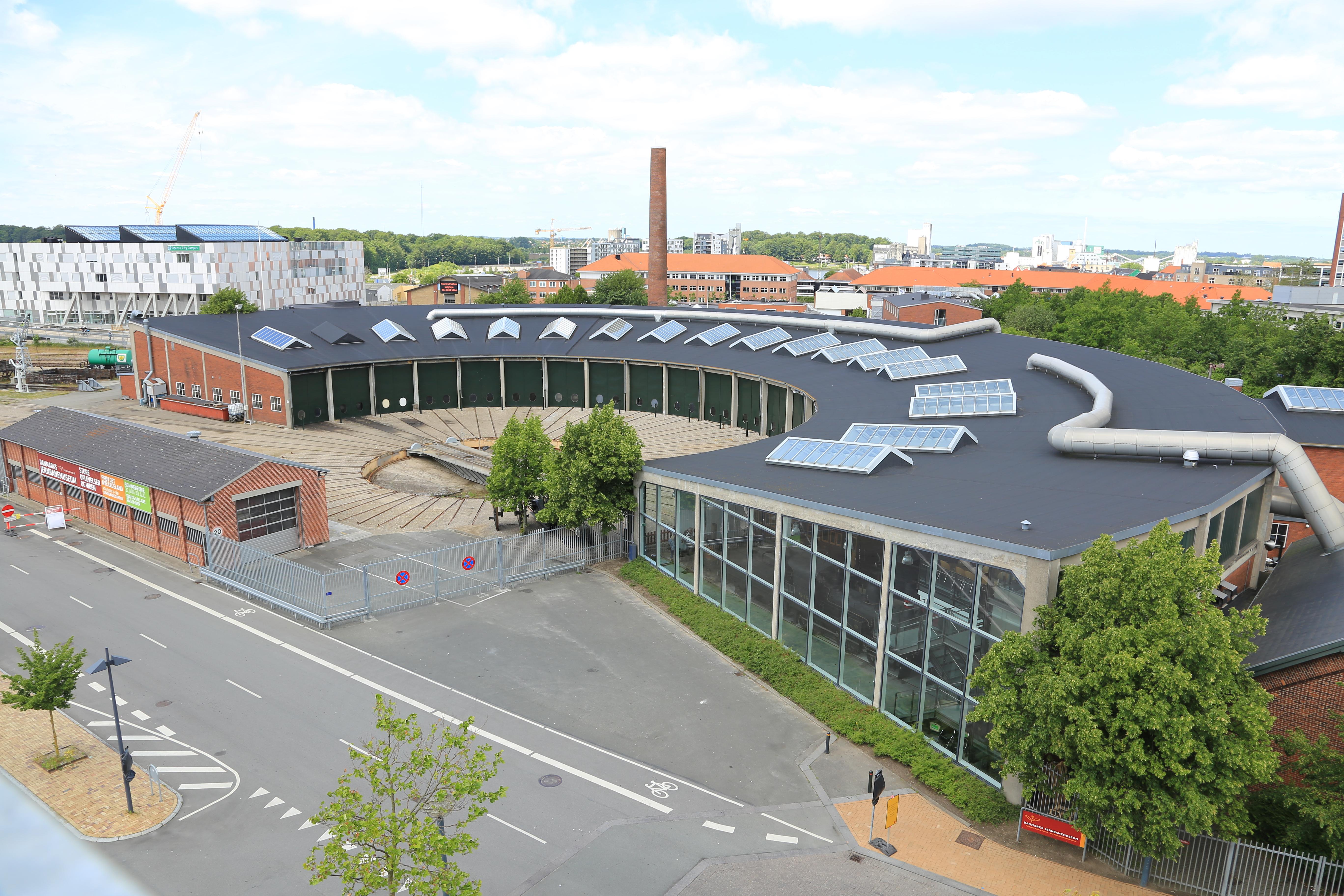 Danmarks Jernbanemuseum Wikipedia Den Frie Encyklopædi