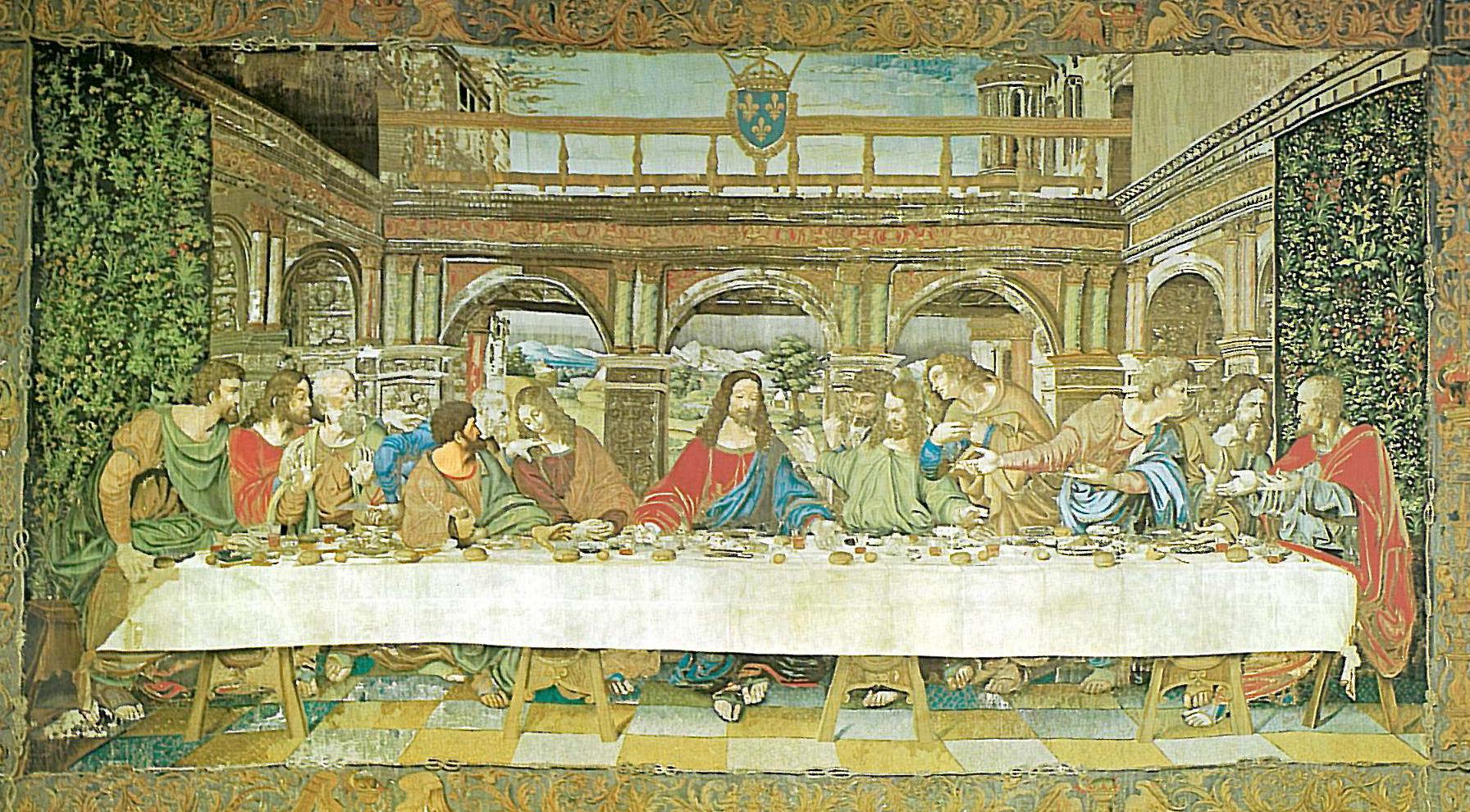 Leonardo Da Vinci Das Abendmahl