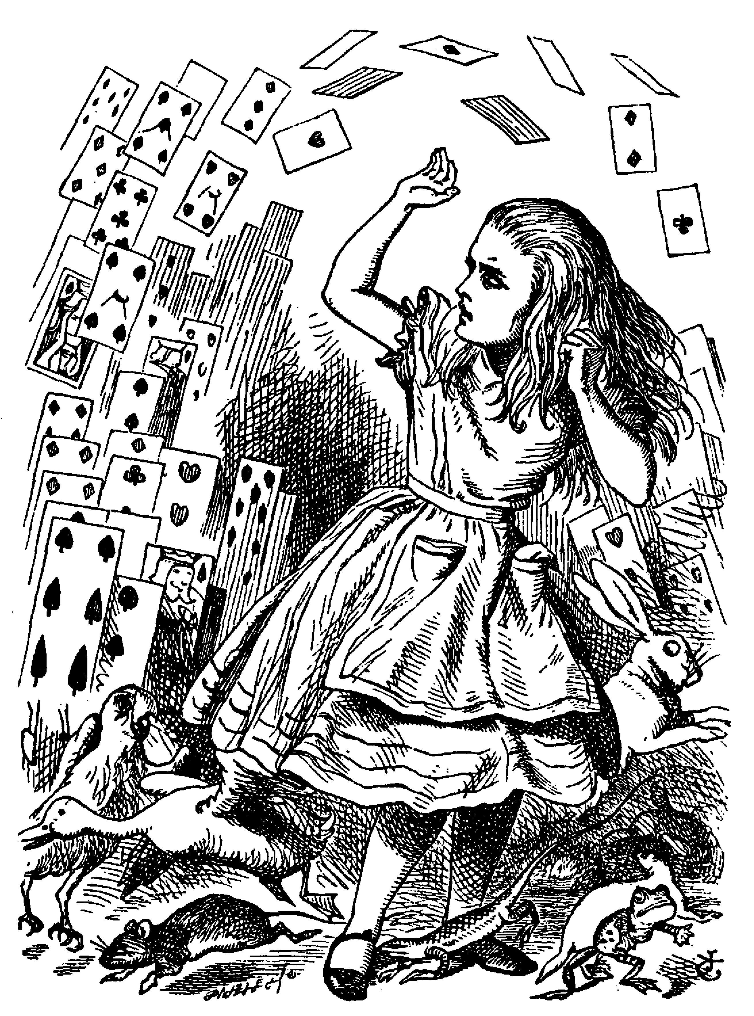 Sir John Tenniel s Classic Illustrations of Alice s