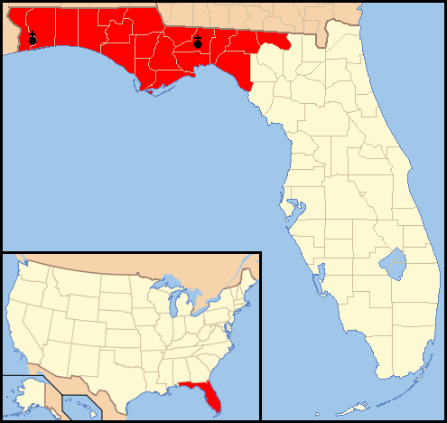 FileDiocese of PensacolaTallahassee map 1png Wikimedia Commons