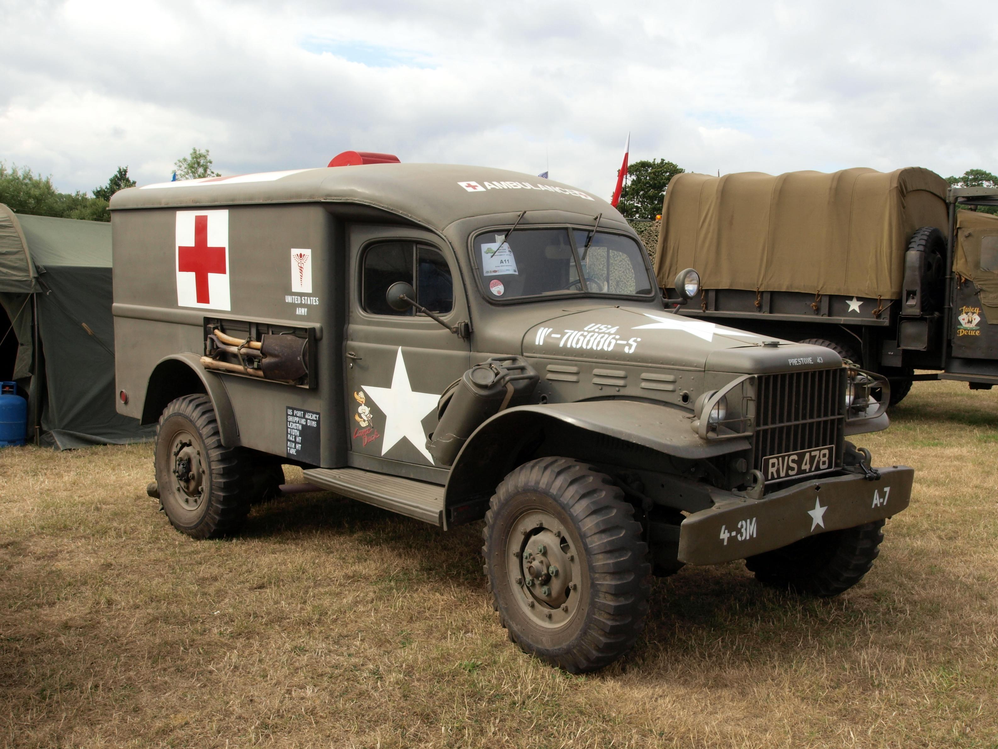 File Dodge Wc 54 Military Ambulance G 502 4x4 W 716886 S