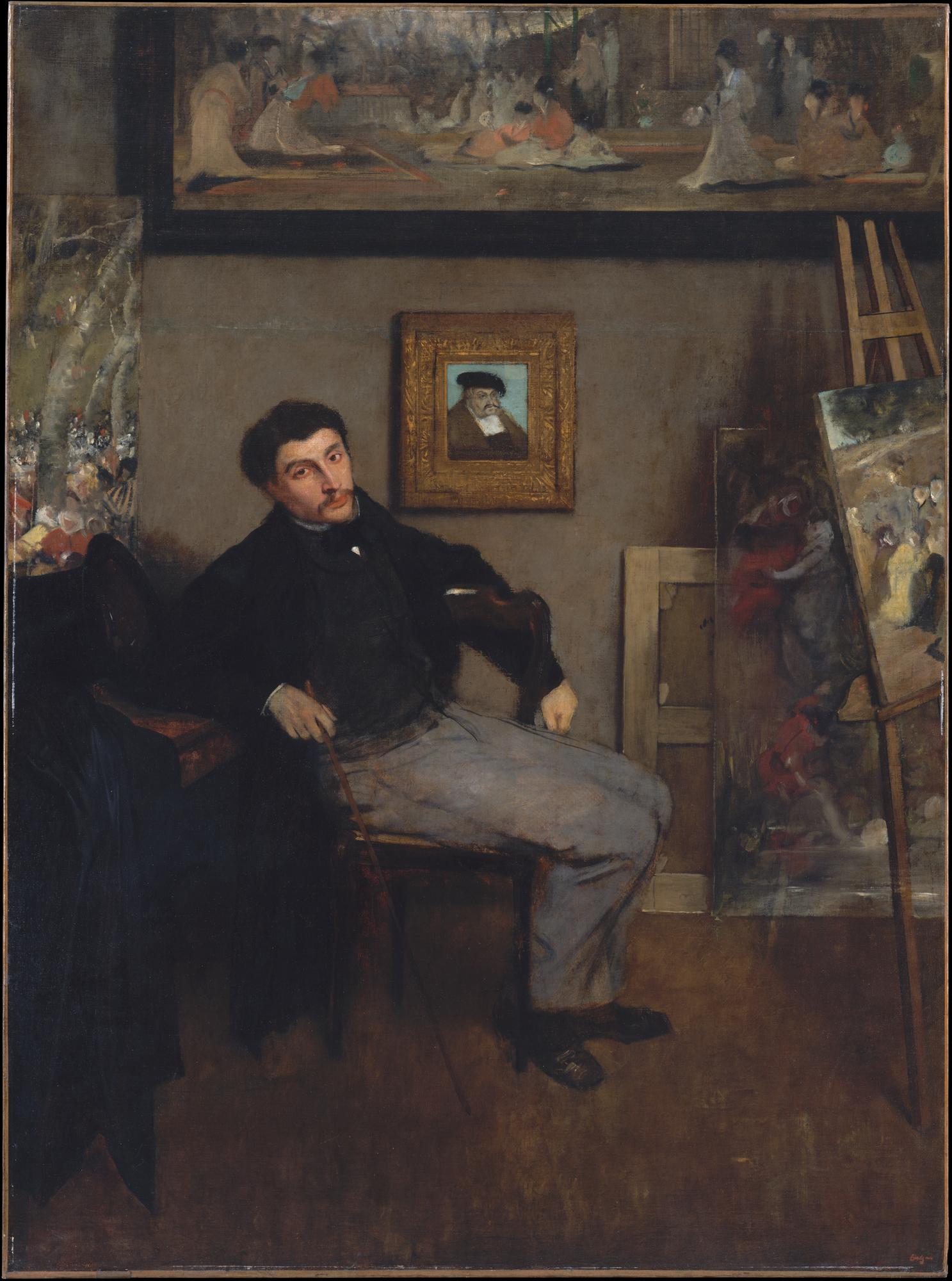 Portrait of James Tissot