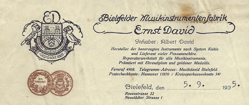 Ernst David (printer)