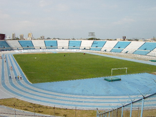 Estadio modelo alberto spencer wikipedia la for Modelos guayaquil