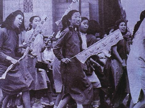 may 4th movement False the may 4th movement was not about the african roots that prevented the colonial rule it was about china's anti-imperialist movement where students made numerous demonstrations in beijing in 1919.