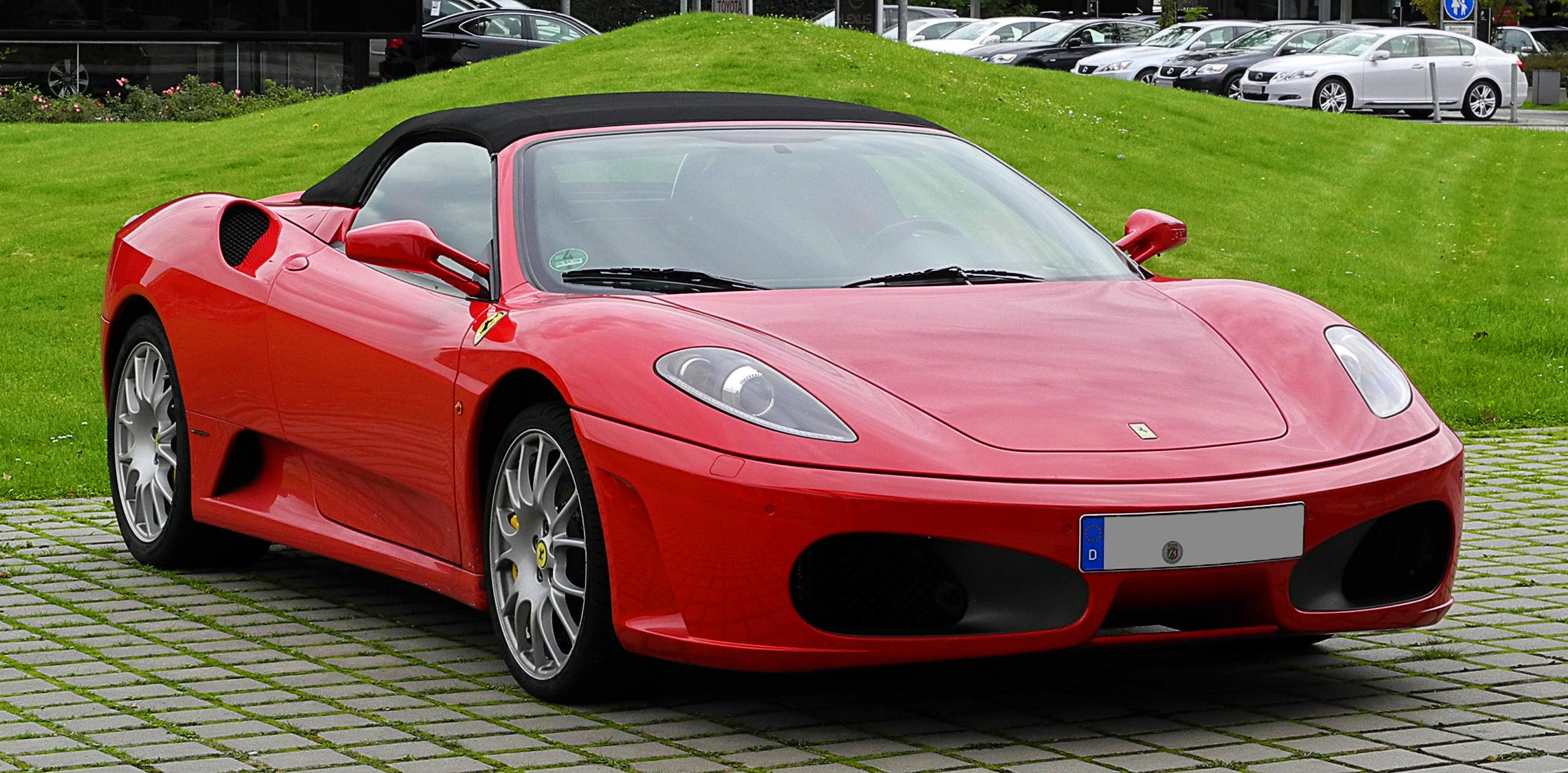 File Ferrari F430 Spider Frontansicht 30 August 2011
