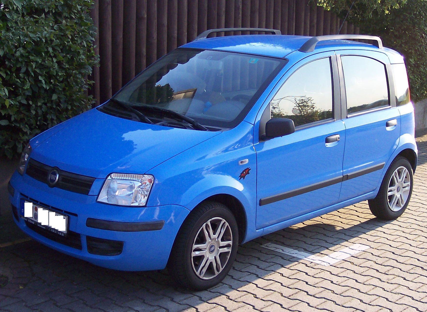 File Fiat Panda 2005 Vl Blue Jpg Wikimedia Commons