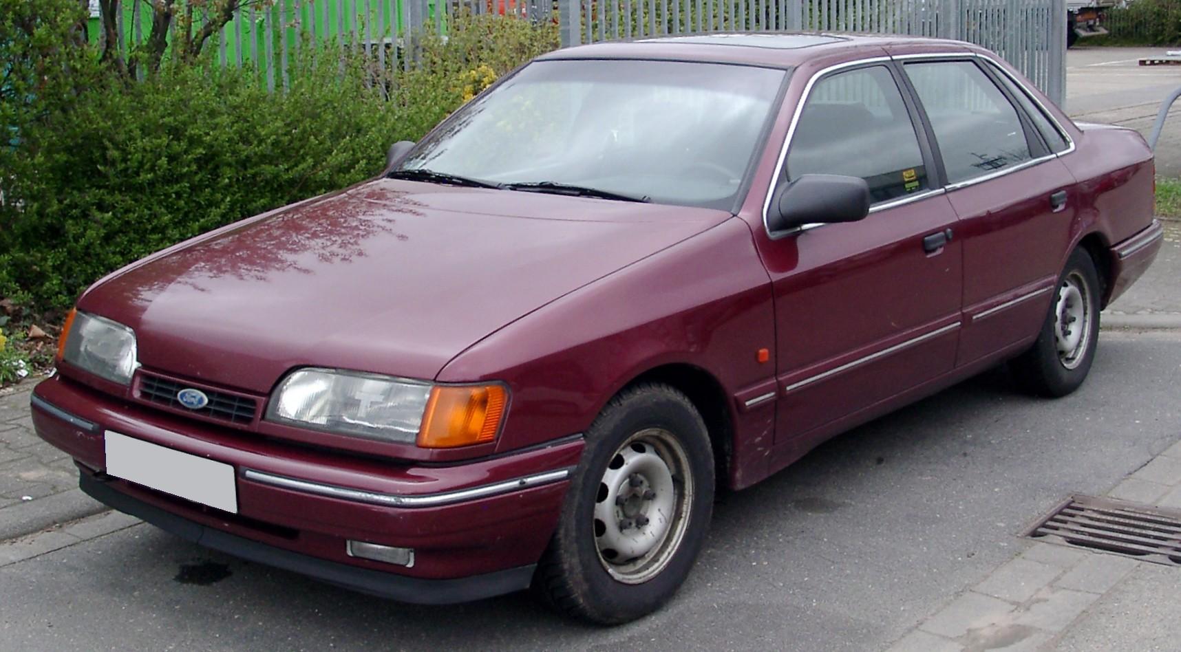 ford scorpio, 1990 v6