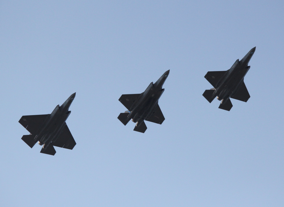 Formation of F-35 Aircraft MOD 45157750.jpg