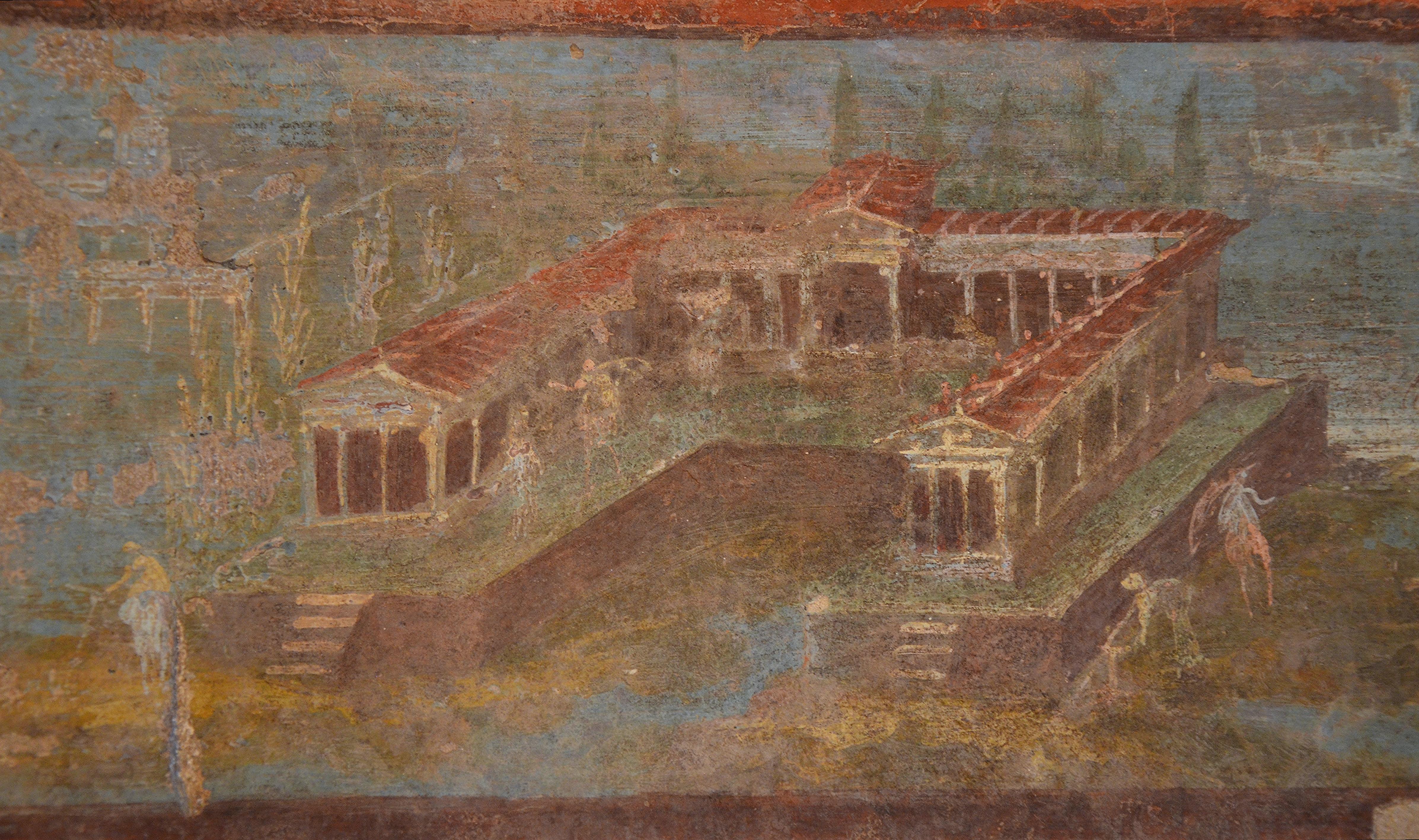 Roman Wall Painting Cherub Shoemakers