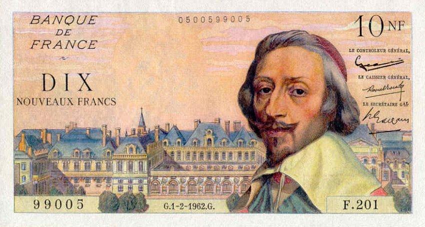 billet de banque richelieu