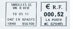 France stamp type DB9E.jpg