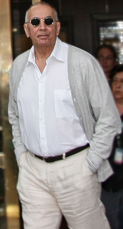 Frank Langella, the only person to win the award multiple times FrankLangella07TIFF.jpg