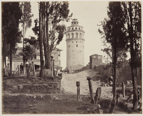 Galata Kulesi - 21 Mayıs 1862