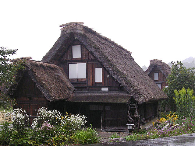 Gassho style houses
