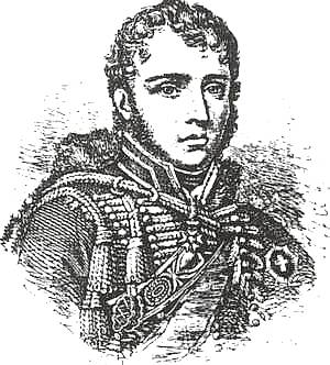General of Brigade Francois Antoine Lallemand, the French commander at Villagarcia. General Francois Lallemand (1774-1839).jpg
