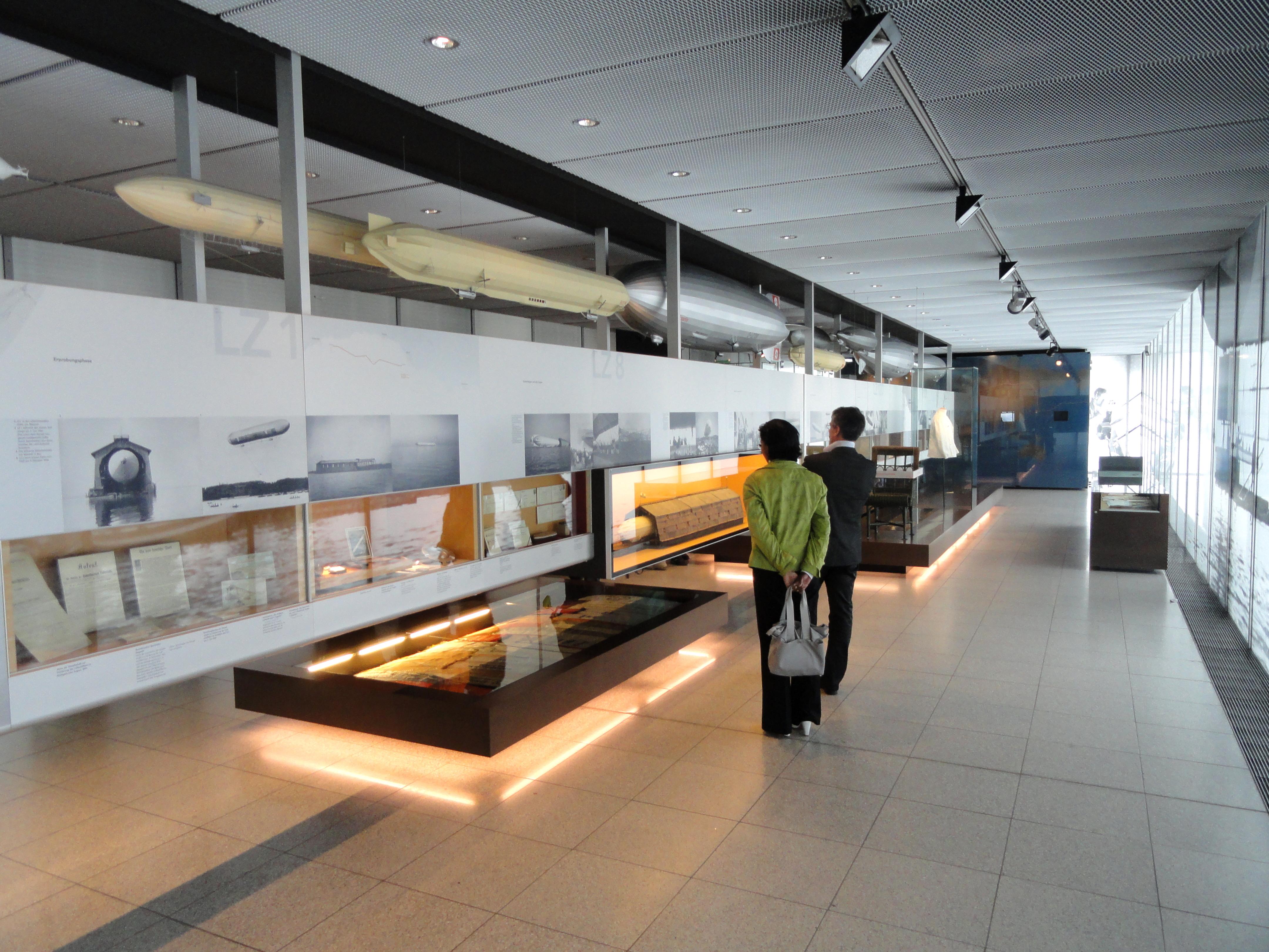 Zeppelin Museum Friedrichshafen Rundflug