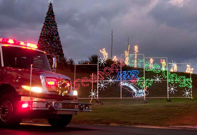 File Gitmo Fire Truck Helps Celebrate Christmas A Png Wikimedia
