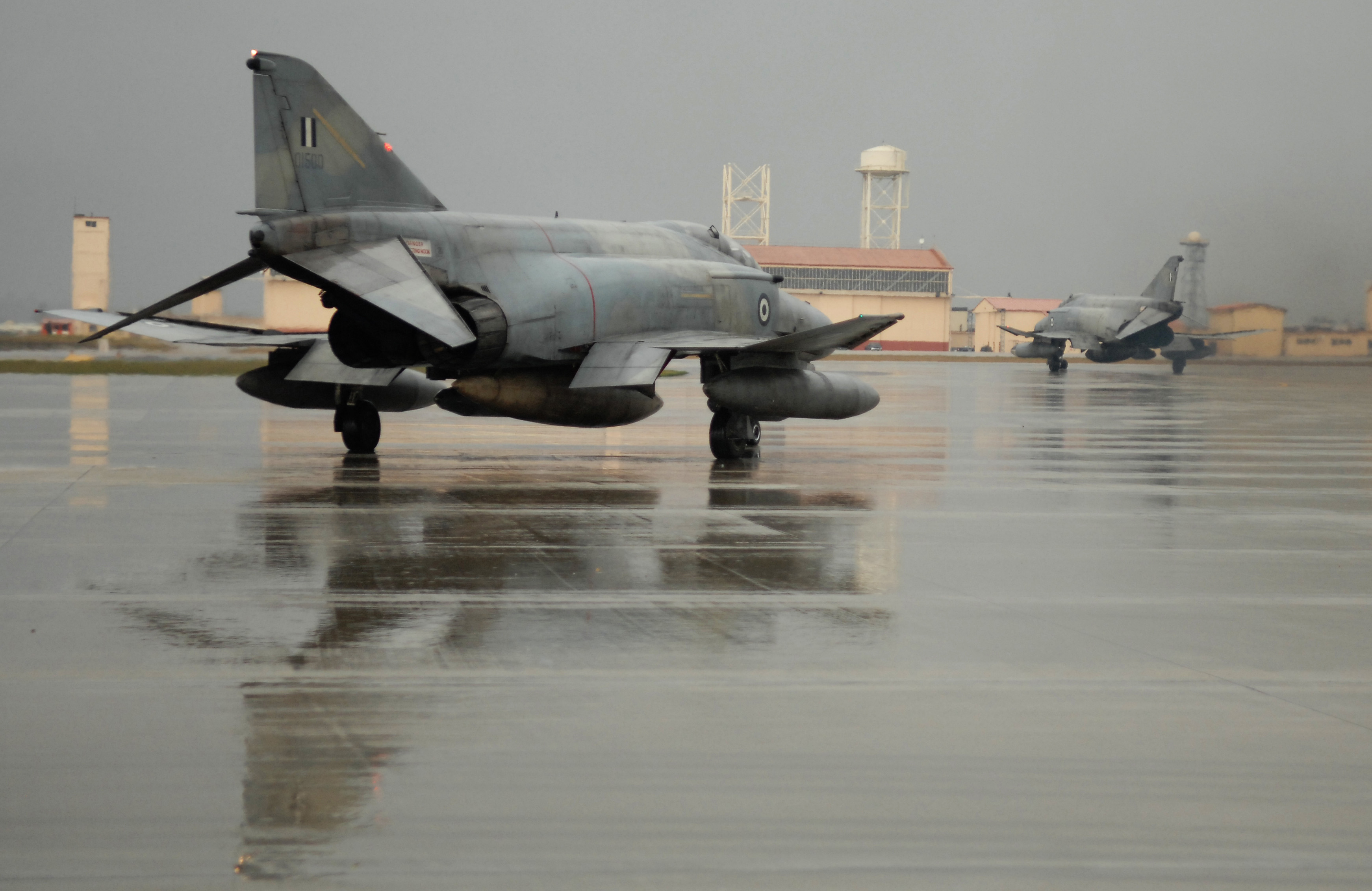 Greek F-4 Phantom, Aviano Air Base