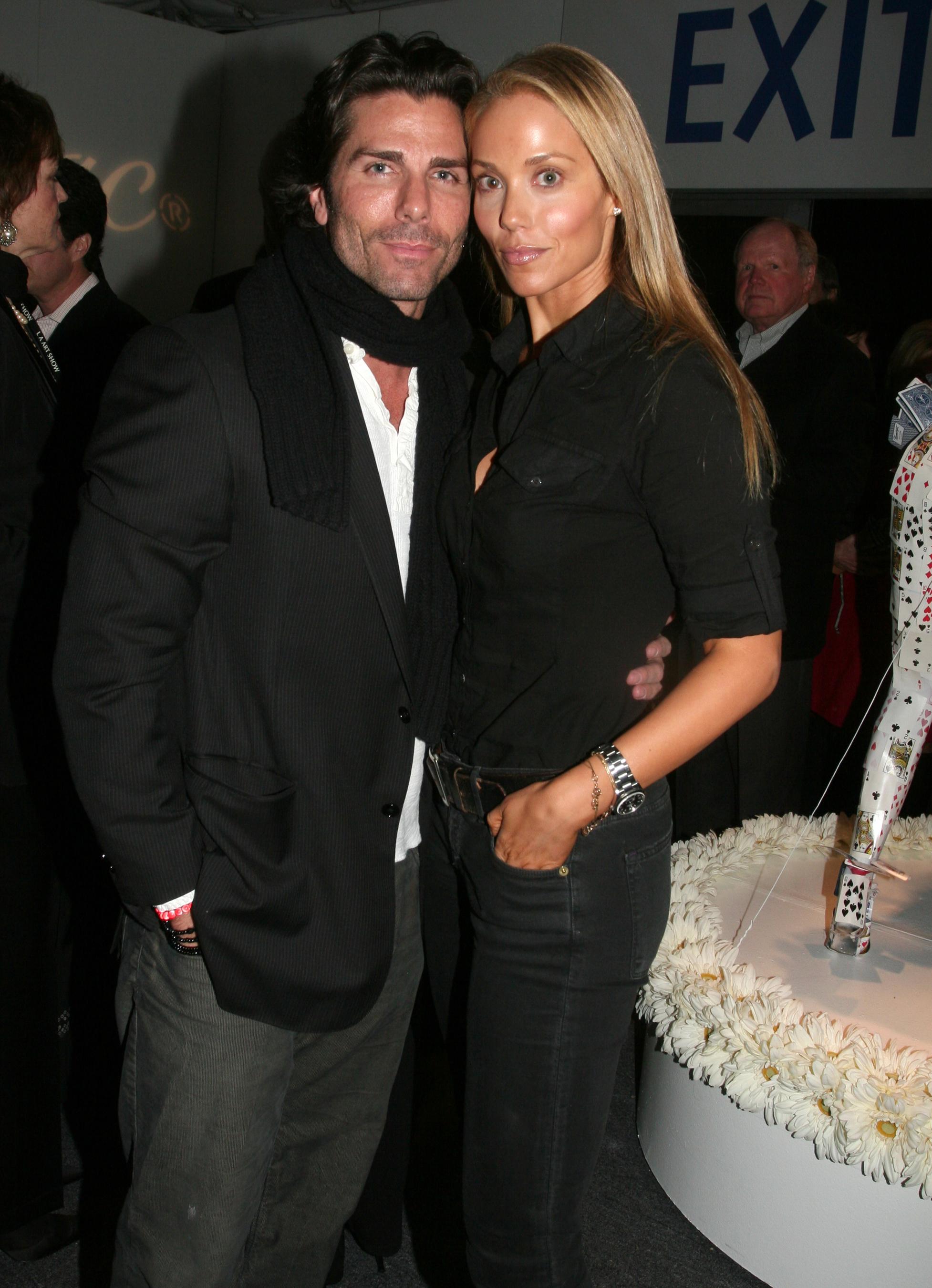 Greg Lauren married elizabeth berkley