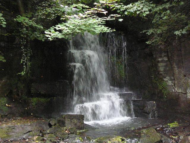 Harmby waterfall - geograph.org.uk - 1435808